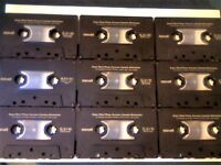 43x MAXELL CHROME USED CASSETTE TAPES FOR £25 JOB LOT OR CHERRY PICK & MIX ONLY WHAT YOU WANT 2 BUY