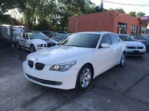 2008 BMW 528XI WHITE SUPER CLEAN