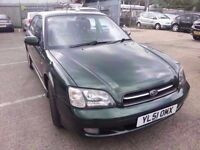 SUBARU LEGACY 2.5 AUTOMATIC 4WD 51 REG GREEN LEATHER