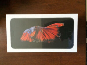 BRAND NEW SEALED IPHONE 6S 32GB UNLOCKED GREY COLOUR