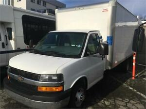 2017 Chevrolet Express Commercial Cutaway 3500 16 feet box cube