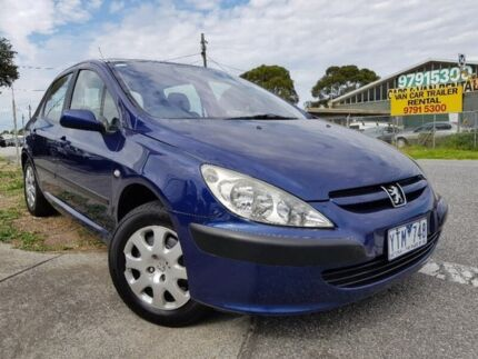 2002 Peugeot 307 T5 XSE Blue 5 Speed Manual Hatchback Dandenong Greater Dandenong Preview