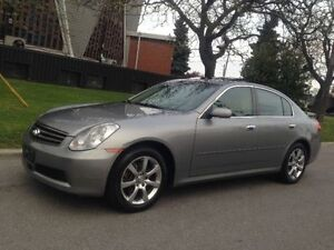 2006 INFINITI G35X AUTOMATIC LEATHER ROOF ALLOYS XENONS