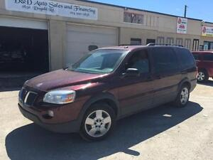 2008 Pontiac Montana SV6 w/1SA-LEATHER-7 PASSENGER-SAFTIED