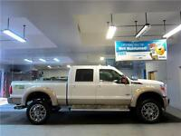 2011 Ford F-350 Lariat 4x4 Lifted 37 tires Diesel King Ranch Nav