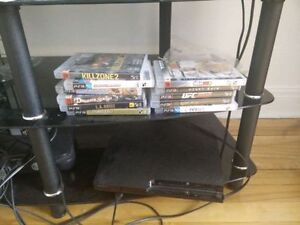 Playstation 3 avec jeux/ PS3 with games