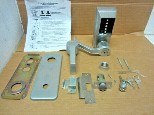SIMPLEX Mechanical Push Button Lockset With Override LL1021C-26D-41 W/ CODE
