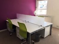 5 x Desks to rent - £140 per month - Central Hove
