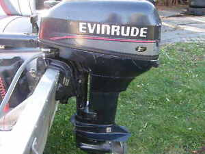 14 Ft. Aluminum with 9.9 Evinrude Electric Start!