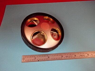 Nikon Japan Optiphot Nosepiece Microscope Part Optics R3-a-26