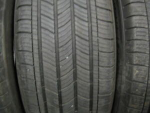 SET OF 4 MICHELIN 205/60R16 ALL SEASON.$80 FOR ALL 4.