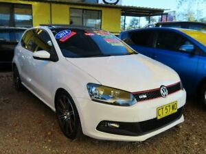 2014 Volkswagen Polo 6R MY14 GTI DSG White 7 Speed Sports Automatic Dual Clutch Hatchback