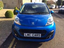 2014 Peugeot 107 1.0 12v Allure ONLY 11,000 MILES IMMACULATE FREE ROAD TAX