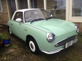Emerald Nissan Figaro for sale Low mileage £4,495