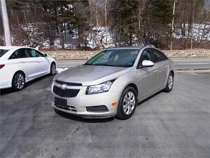 2014 CHEVROLET CRUZE LT...LOADED!! VERY LOW KMS!! APPLY TODAY!!