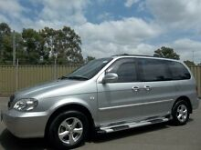 2005 Kia Carnival KV11 LS Silver 4 Speed Automatic Wagon Blacktown Blacktown Area Preview