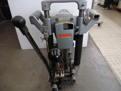 Hitachi Ca-20a Electric Chain Mortiser For Wood Working Used 66