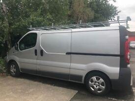 Vauxhall Vivaro Van , Roof racks, Full service history.