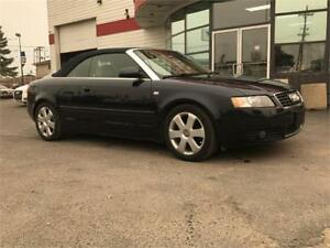 SOLD! SOLD! 2003 Audi A4 1.8T Convertible! Only 65 ORIGINAL KM!