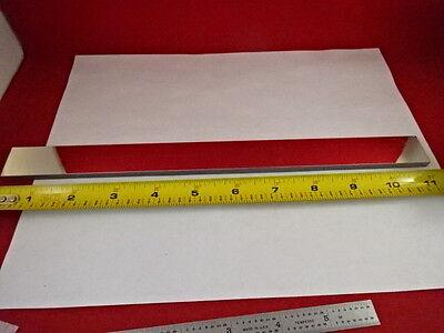 Large Long Optical Flat Mirror Glass Laser Optics As Is 80-26