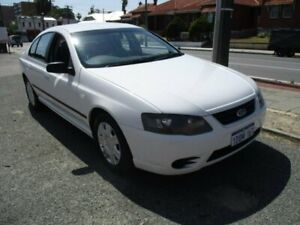 2007 Ford Falcon BF Mk II XT White 4 Speed Sports Automatic Sedan West Perth Perth City Area Preview