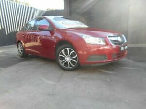 2009 Holden Cruze JG CD MY10 Red 6 Speed Auto Activematic Sedan Fawkner Moreland Area Preview