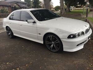 2001 BMW 530i White Automatic Sedan Croydon Burwood Area Preview