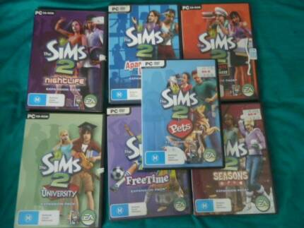 SIMS 2 Games Expansions.Needs Basic Sims 2 .Free Postage  PickUP