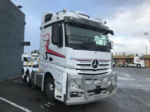 2017 Mercedes Benz Actros 2658 6x4 prime mover, 580hp Mercedes Euro 6 engine, 12 speed Mercedes auto Regency Park Port Adelaide Area Preview
