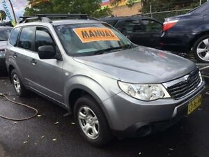 2009 Subaru Forester MY09 X Silver 5 Speed Manual Wagon Campbelltown Campbelltown Area Preview