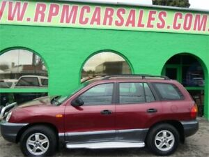 2002 Hyundai Santa Fe GL (4x4) Red 4 Speed Automatic Wagon Nailsworth Prospect Area Preview
