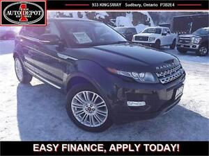 2013 Land Rover Range Rover Evoque NAV!! PANO!! HEATED LEATHER!!