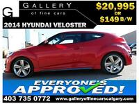 2014 Hyundai Veloster TURBO $149 BI-WEEKLY APPLY NOW DRIVE NOW