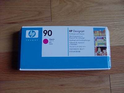 2015 GENUINE HP #90 MAGENTA PRINTHEAD/CLEANER DESIGNJET 4000 4500 C5056A NEW SE