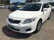 2008 Toyota Corolla ZRE152R Ascent White 6 Speed Manual Sedan Lansvale Liverpool Area Preview