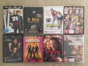 DVD's - Various $10 each
