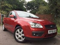GOOD BAD OR NO CREDIT! FINANCE SPECIALISTS CALL 07766 732 623 FORD FOCUS 1.6 SPORT 5d 100 BHP 2006