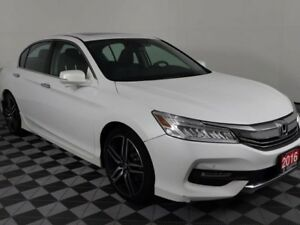 2016 Honda Accord Sedan Touring w/Heated Leather Seats-Honda Sen