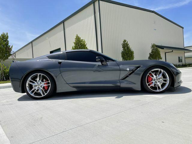 2014 Gray Chevrolet Corvette Stingray Z51   C7 Corvette Photo 6