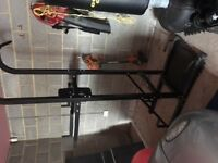 Marcy Home gym system - Dips, pull ups & leg extension