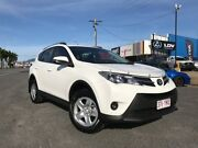 2014 Toyota RAV4 ASA44R MY14 GX AWD White 6 Speed Sports Automatic Wagon Bungalow Cairns City Preview