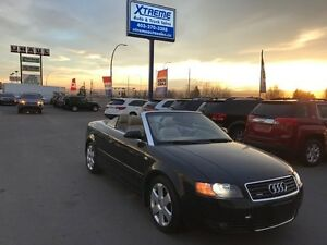 2006 Audi A4 3.0L AWD Cabrio $169 bi-weekly APPLY NOW DRIVE NOW