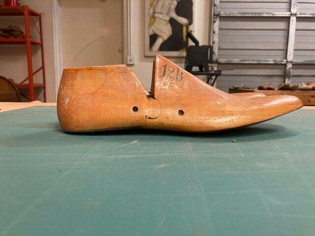 Pair of Vintage Wooden Shoe Lasts - Men