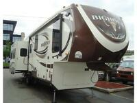 2015 HEARTLAND BIG HORN 3570RS LUXURY 5TH WHEEL