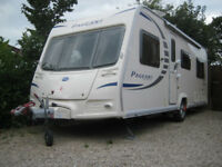 2010 Bailey Pageant Burgundy Series 7 touring caravan 4 berth