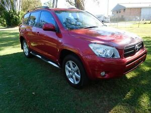 2007 Toyota RAV4 ACA33R Cruiser Red 5 Speed Manual Wagon Ballina Ballina Area Preview