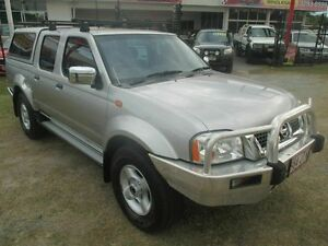 2006 Nissan Navara D22 S2 ST-R Silver 5 Speed Manual Utility Kippa-ring Redcliffe Area Preview