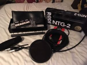 Rode NTG2 Microphone and more