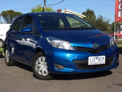 2014 Toyota Yaris Blue Automatic Hatchback Hoppers Crossing Wyndham Area Preview