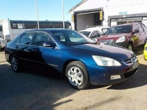 2003 Honda Accord 7TH GEN V6 Luxury Blue 5 Speed Automatic Sedan North St Marys Penrith Area Preview